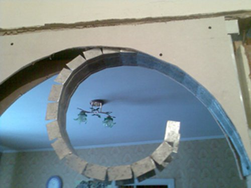 Садовая Как сделать арку на кухне фото