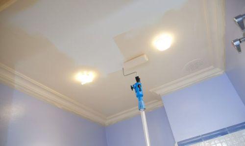 Краска для покраски потолка из гипсокартона герметик пенополиуретановый пена makroflex характеристика