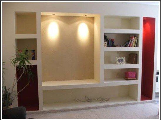 шкафы из гипсокартона фото